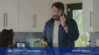 Farmers Insurance TV Spot, 'Phone It In: Auto/Home Discount' - Thumbnail 4