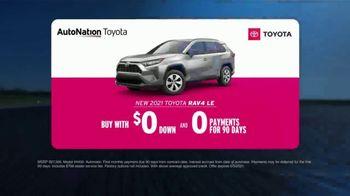 AutoNation Toyota TV Spot, 'Go Time: 2021 RAV4 LE' - Thumbnail 6