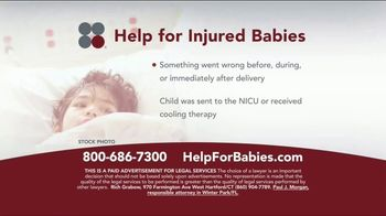 Sokolove Law TV Spot, 'Help for Injured Babies'
