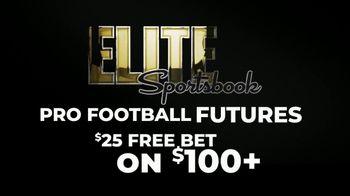 ELITE Sportsbook TV Spot, '$25 Free Bet on $100' - Thumbnail 1