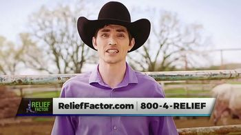 Relief Factor TV Spot, 'Bull Riding' Featuring Kyle Jones - 328 commercial airings