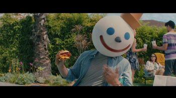 Jack in the Box BBQ Bacon Double Cheeseburger Combo TV Spot, 'Piscina' con Oscar Miranda [Spanish] - 12 commercial airings