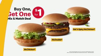 McDonald's Buy One, Get One for $1 TV Spot, 'The Wait, No Leftovers? Deal' - Thumbnail 9