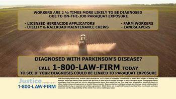 Kresch Legal Services TV Spot, 'Paraquat Exposure' - Thumbnail 9