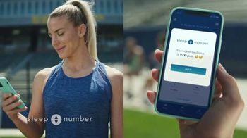 Sleep Number Biggest Sale of the Year TV Spot, 'All Smart Beds on Sale' Featuring Julie Ertz - 2564 commercial airings
