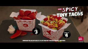 Jack in the Box Spicy Tiny Tacos TV Spot, 'Can't Handle It: $3' Featuring King Bach - Thumbnail 9