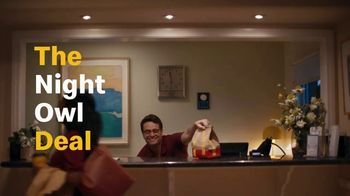 McDonald's Buy One, Get One for $1 TV Spot, 'The Night Owl and Early Bird Deal'