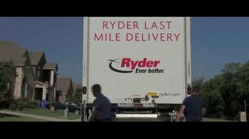 Ryder TV Spot, 'Even Better: Last Mile Delivery' - Thumbnail 9