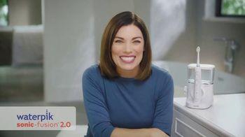 Waterpik Sonic-Fusion 2.0 TV Spot, 'Brush and Floss Simultaneously'