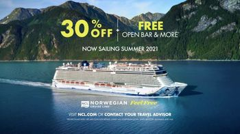 Norwegian Cruise Line TV Spot, 'Ready to Break Free' Song by Queen - Thumbnail 9