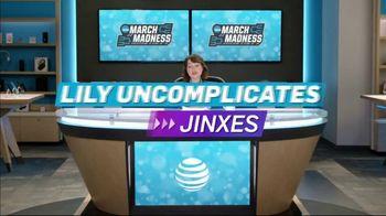 AT&T Wireless TV Spot, 'Lily Uncomplicates: Jinxes' - Thumbnail 3
