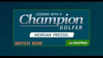 GolfPass TV Spot, 'Lessons With a Champion Golfer: Morgan Pressel' - Thumbnail 9