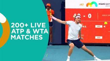 Tennis Channel Plus TV Spot, 'Miami Open: 8 Courts' - Thumbnail 5