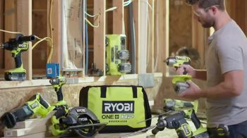 Ryobi ONE+ HP Tools TV Spot, 'Advanced Technology'