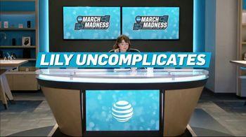 AT&T Wireless TV Spot, 'Lily Uncomplicates: Layups' - Thumbnail 2