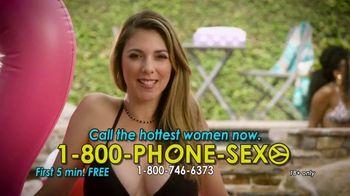 1-800-PHONE-SEXY TV Spot, 'Splash Around'