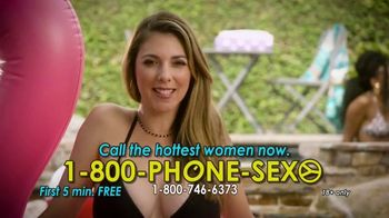 1-800-PHONE-SEXY TV Spot, 'Splash Around'