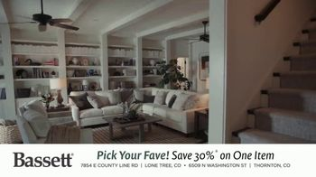 Bassett Bench-Made TV Spot, 'Pick Your Fave' - Thumbnail 1
