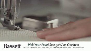 Bassett Bench-Made TV Spot, 'Pick Your Fave' - Thumbnail 2