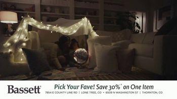 Bassett Bench-Made TV Spot, 'Pick Your Fave'