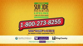 National Suicide Prevention Lifeline TV Spot, 'Medicine Safety' - Thumbnail 8