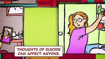 National Suicide Prevention Lifeline TV Spot, 'Medicine Safety' - Thumbnail 3