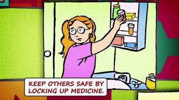 National Suicide Prevention Lifeline TV Spot, 'Medicine Safety' - Thumbnail 4