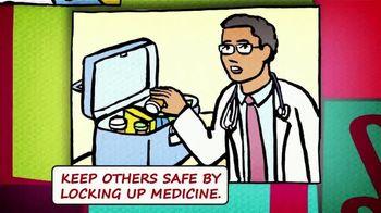 National Suicide Prevention Lifeline TV Spot, 'Medicine Safety' - Thumbnail 5