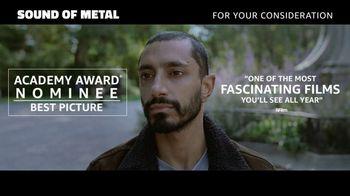 Amazon Prime Video TV Spot, 'Sound of Metal'