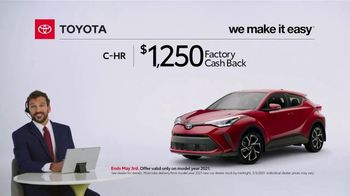 2021 Toyota C-HR TV Spot, 'Commentary: C-HR' [T2] - Thumbnail 2