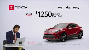 2021 Toyota C-HR TV Spot, 'Commentary: C-HR' [T2] - Thumbnail 4