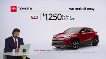 2021 Toyota C-HR TV Spot, 'Commentary: C-HR' [T2] - Thumbnail 5