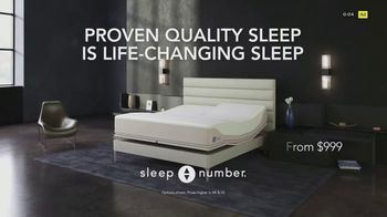 Sleep Number 360 Smartbed TV Spot, 'Improve Recovery With Proven Quality Sleep' - Thumbnail 9