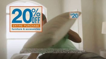 Ashley HomeStore Cares Event TV Spot, 'Get 20% Off When You Donate $20' - Thumbnail 4