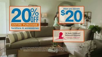 Ashley HomeStore Cares Event TV Spot, 'Get 20% Off When You Donate $20' - Thumbnail 5