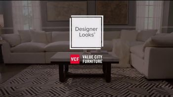 Value City Furniture TV Spot, 'Designer Looks: Outdo the Competition' - Thumbnail 1