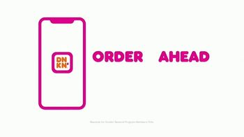 Dunkin' Cold Brew with Sweet Cold Foam TV Spot, 'Perfect Top: Order on the App' - Thumbnail 9