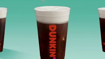 Dunkin' Cold Brew with Sweet Cold Foam TV Spot, 'Perfect Top: Order on the App' - Thumbnail 5