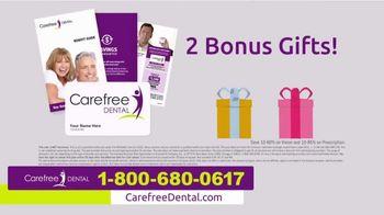 Carefree Dental Plan TV Spot, 'Dental Bill' - Thumbnail 9