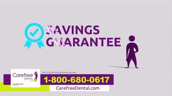 Carefree Dental Plan TV Spot, 'Dental Bill' - Thumbnail 6
