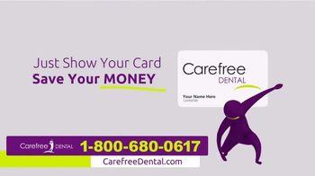 Carefree Dental Plan TV Spot, 'Dental Bill'
