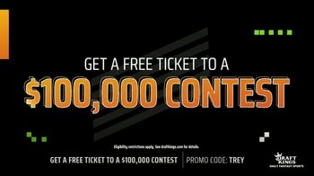 DraftKings TV Spot, 'Big Trey Payday: $100,000 Contest' - Thumbnail 3