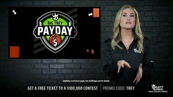 DraftKings TV Spot, 'Big Trey Payday: $100,000 Contest' - Thumbnail 6