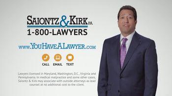 Saiontz & Kirk, P.A. TV Spot, 'Don't Count on It' - Thumbnail 9