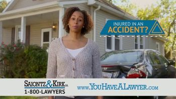 Saiontz & Kirk, P.A. TV Spot, 'Don't Count on It' - Thumbnail 3