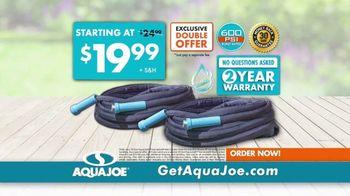 AquaJoe Fiberjacket Max TV Spot, 'Won't Crack Under Pressure' - Thumbnail 10