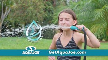 AquaJoe Fiberjacket Max TV Spot, 'Won't Crack Under Pressure' - Thumbnail 5