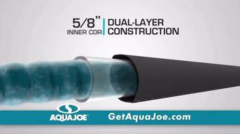AquaJoe Fiberjacket Max TV Spot, 'Won't Crack Under Pressure' - Thumbnail 6