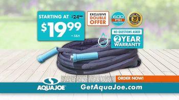AquaJoe Fiberjacket Max TV Spot, 'Won't Crack Under Pressure' - Thumbnail 9