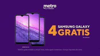 Metro by T-Mobile TV Spot, 'Conquista tu día: cuatro teléfonos gratis y MLB.tv' [Spanish] - Thumbnail 4